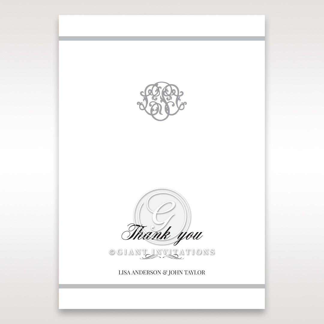 Elegant Seal thank you card DY14503