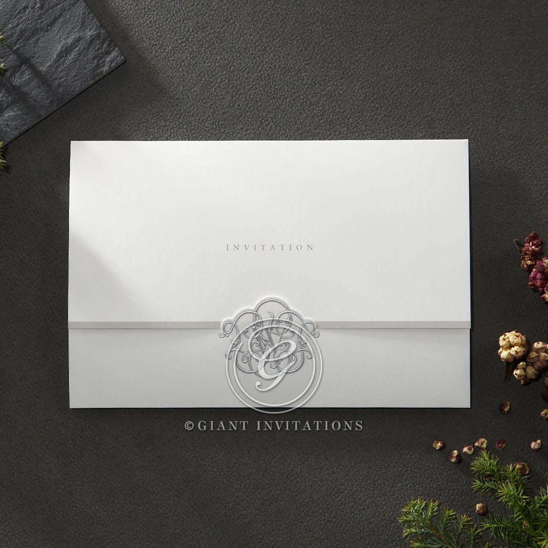 Elegant Seal wedding invitations HB14503