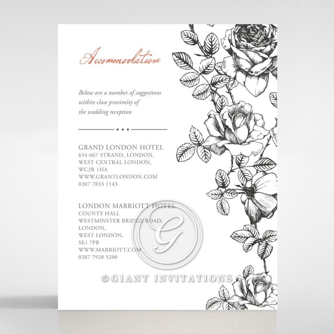 English Rose accommodation card DA116108-PK