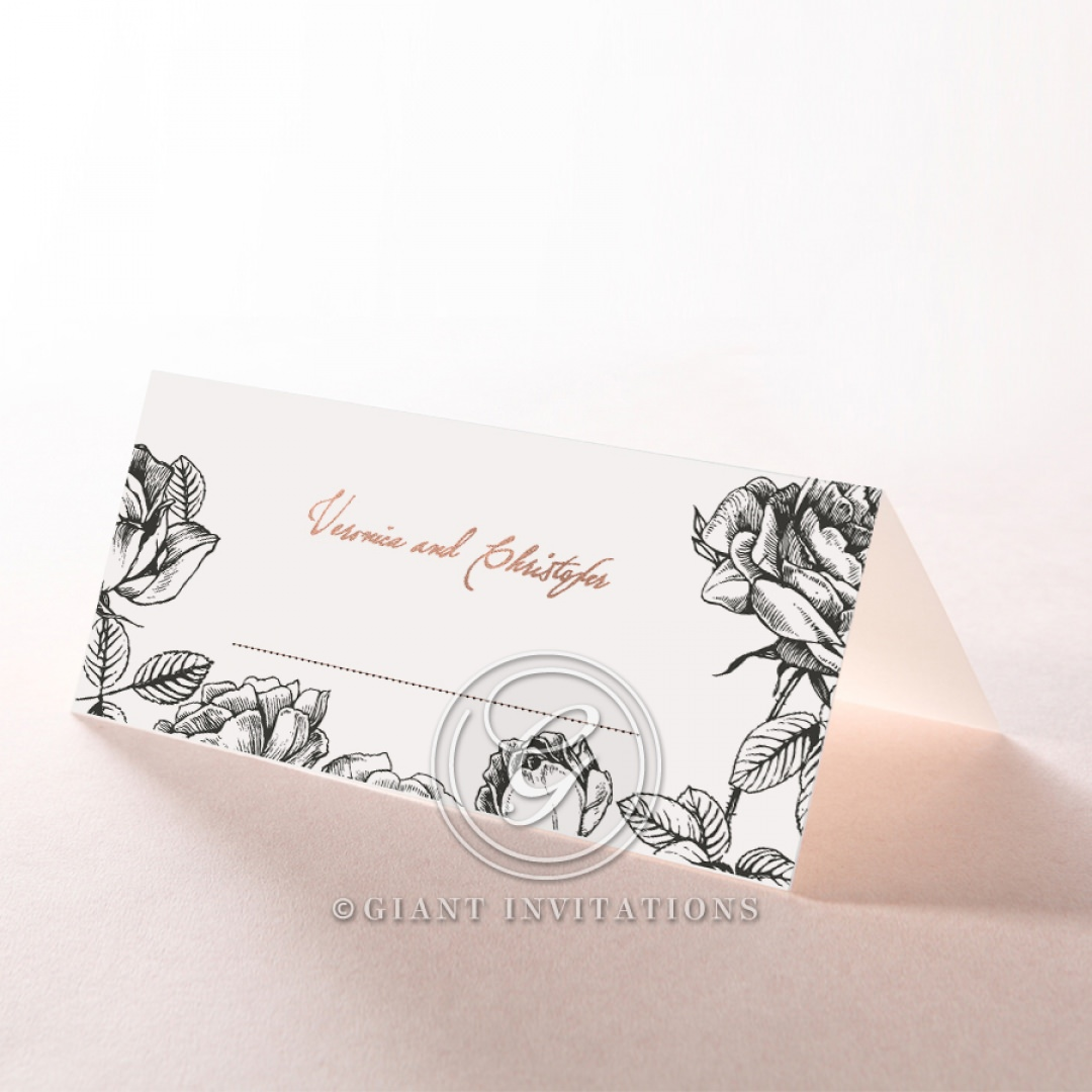English Rose place card DP116108-TR-RG