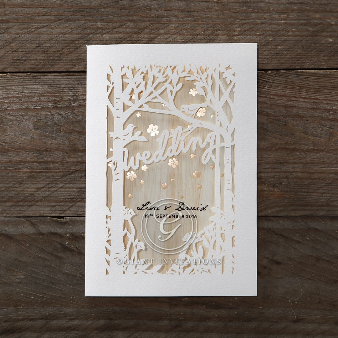 Unique Wedding Invitations Personalised for You