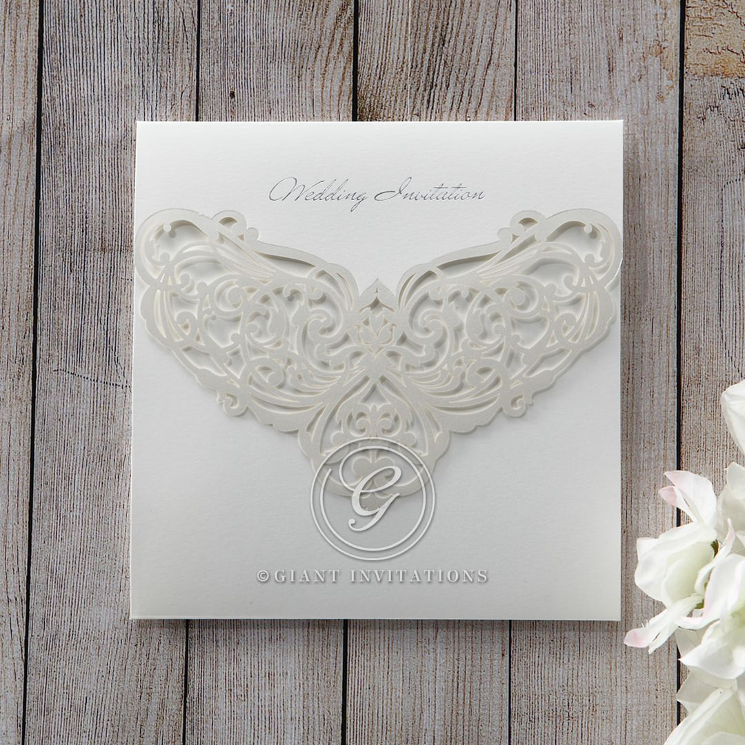 White An Elegant Beginning - Wedding invitation - 14