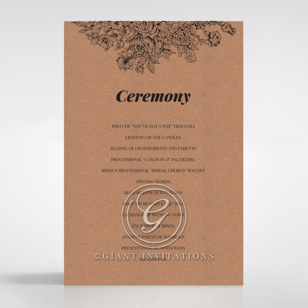 Hand Delivery order of service DG116063-NC