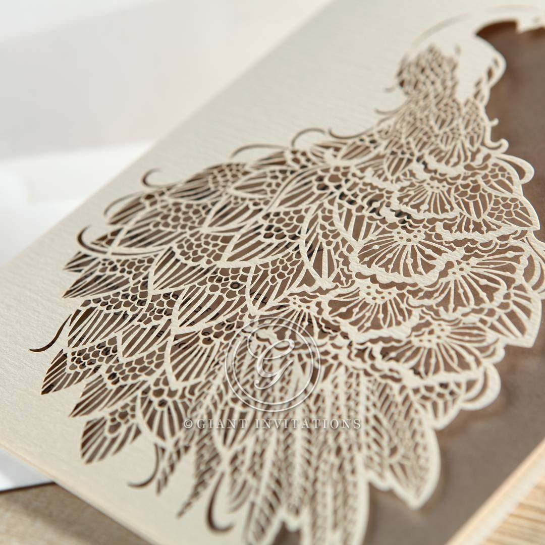 Peacock Laser Cut | Modern, Intricate, Graceful Design