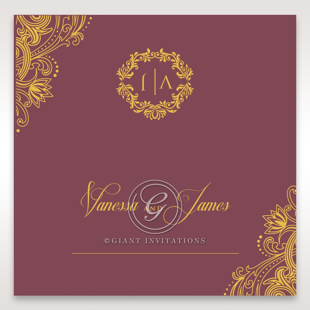 Imperial Glamour with Foil place card DP116022-MS-F