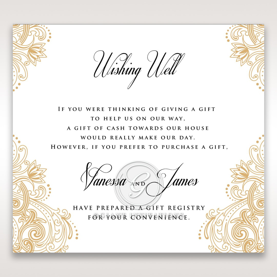 Imperial Glamour without Foil wishing well card DW116022-DG