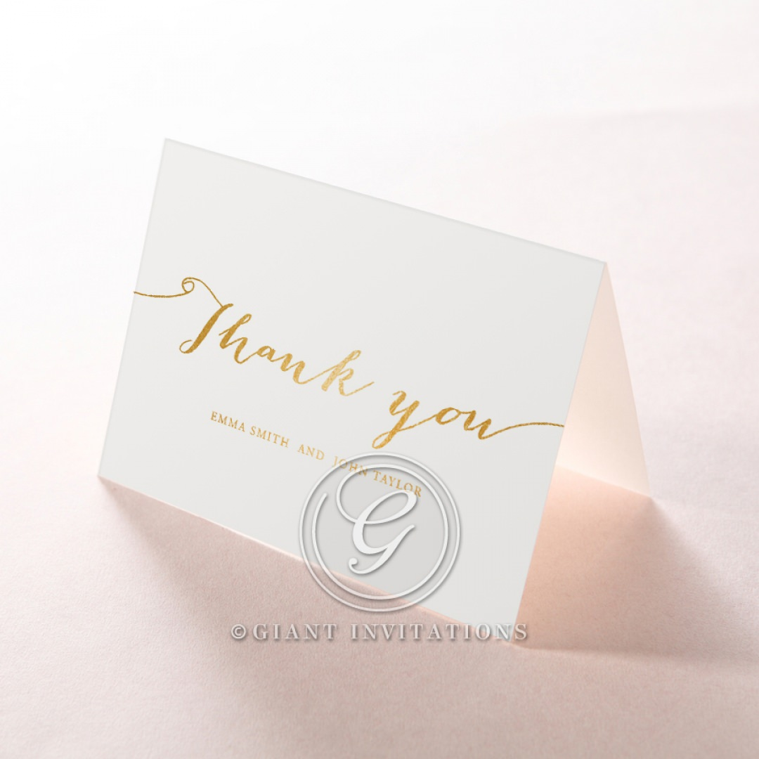 Infinity thank you card DY116085-GW-GG
