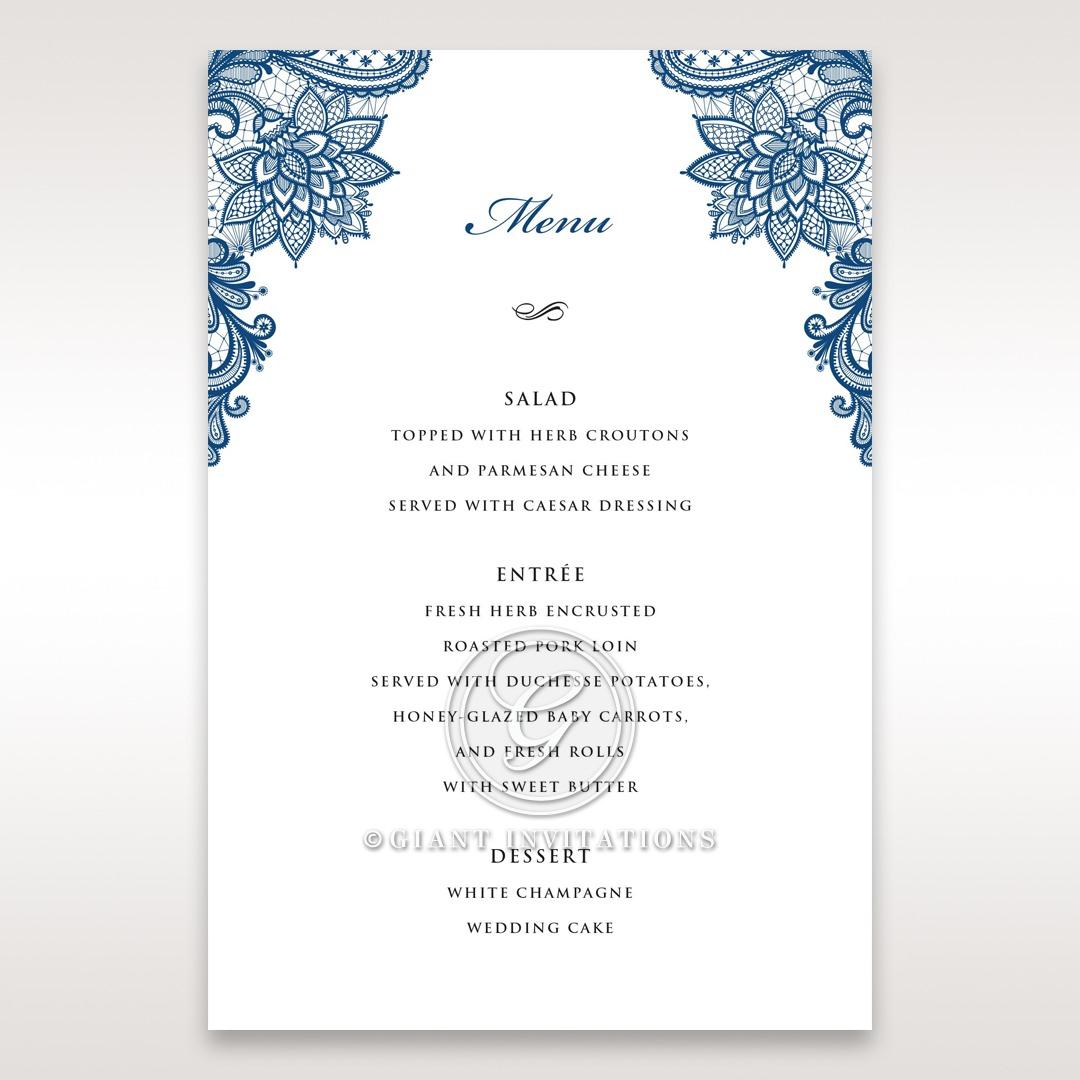 Noble Elegance menu card DM11014