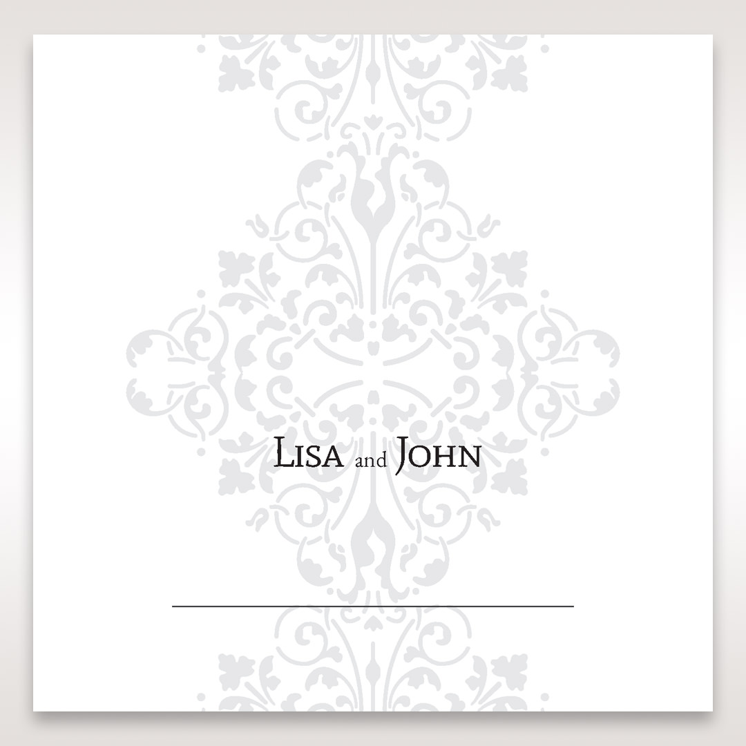 Black A Night at the Opera - Place Cards - Wedding Stationery - 79