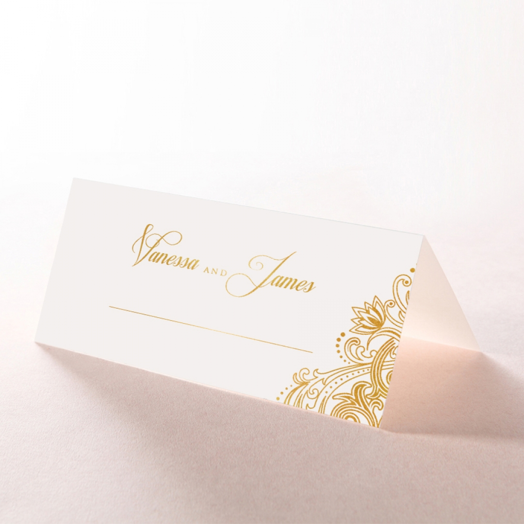 Imperial Glamour with Foil place card DP116022-NV-F