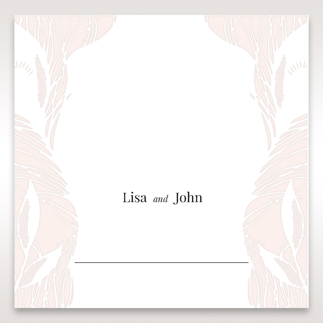 Orange Mystic Forest - Place Cards - Wedding Stationery - 69