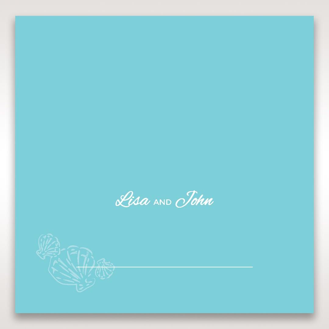Green Ocean Frame I Laser Cut - Place Cards - Wedding Stationery - 89
