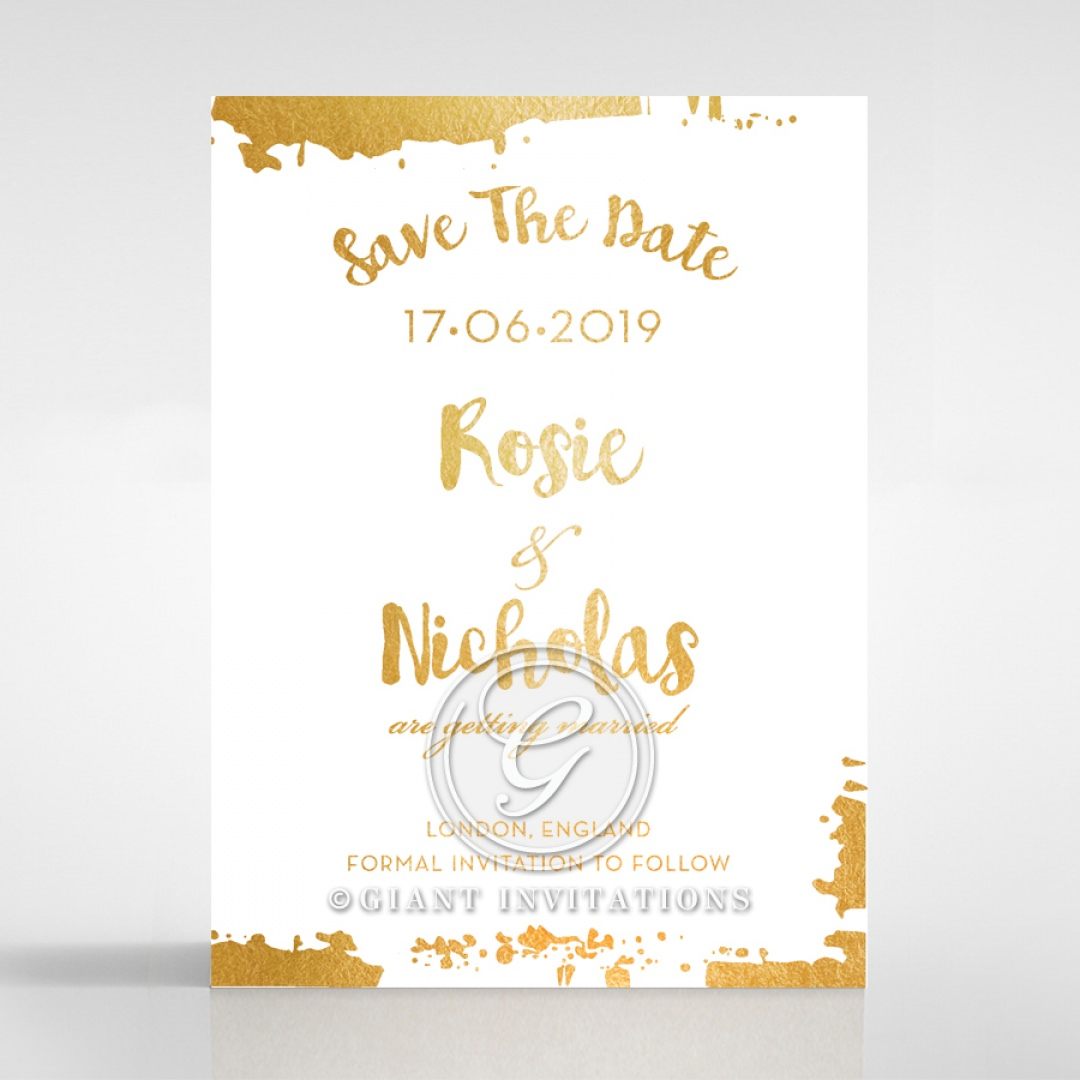 Rusted Charm save the date DS116082-GW-GG