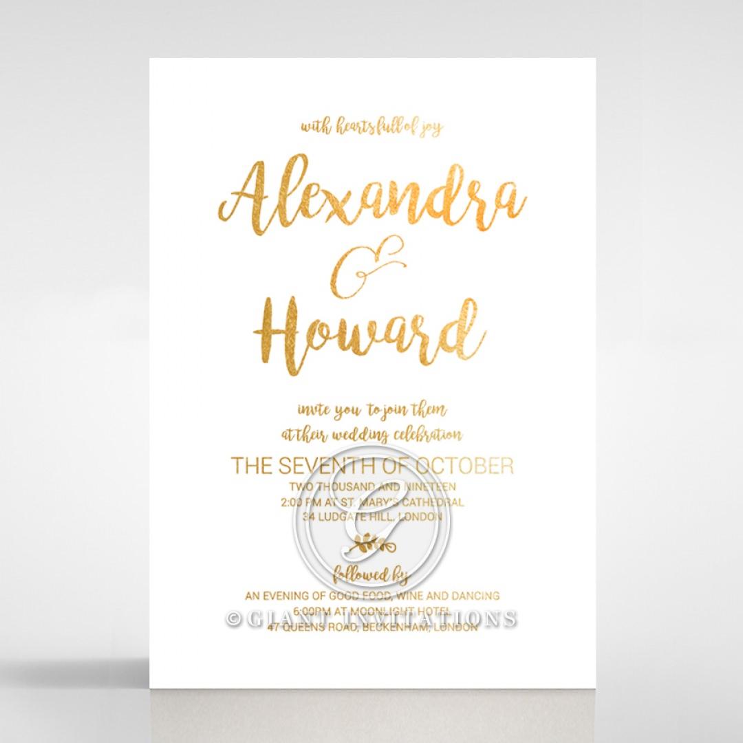 Rustic Lustre wedding invitations FWI116092-GW-GG