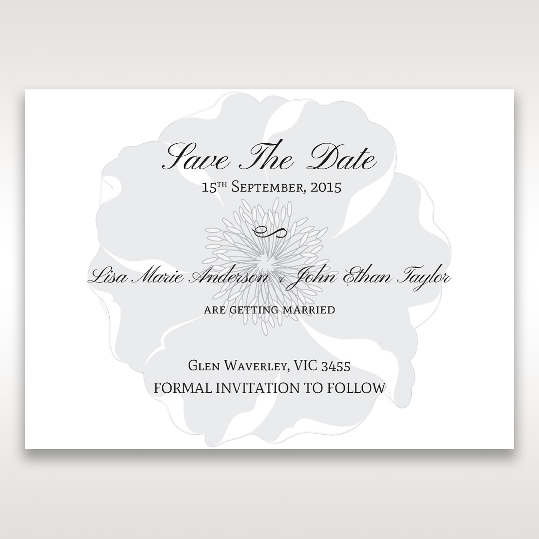 White True Love - Save the Date - Wedding Stationery - 37