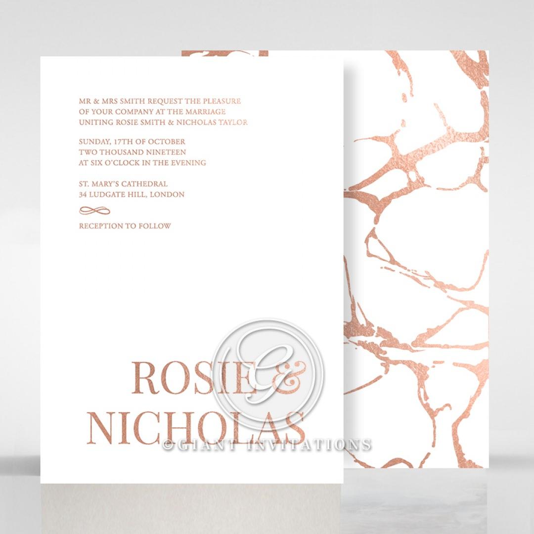 Stonework wedding invitations FWI116077-GW-RG