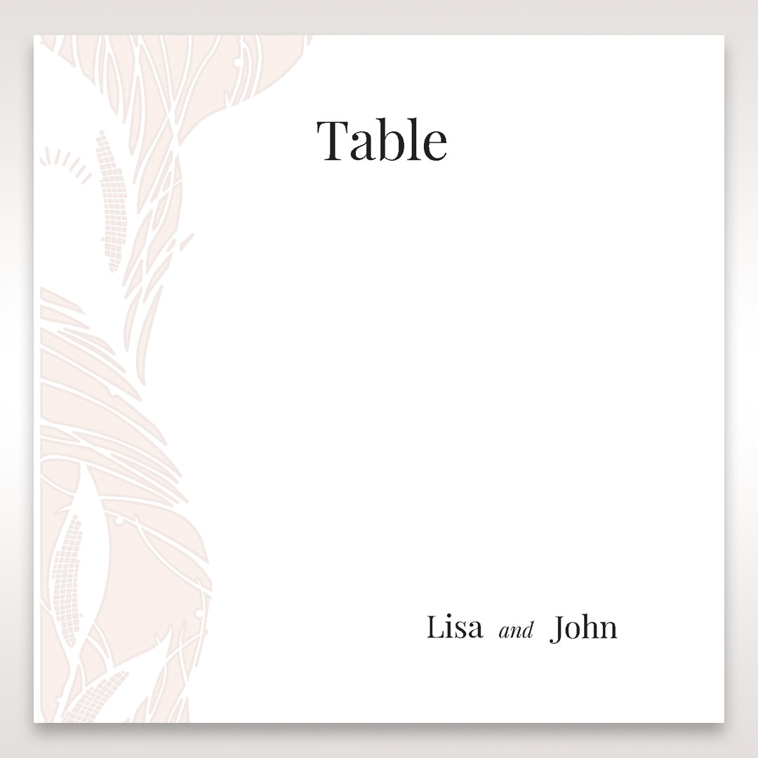 Orange Mystic Forest - Table Number Cards - Wedding Stationery - 61