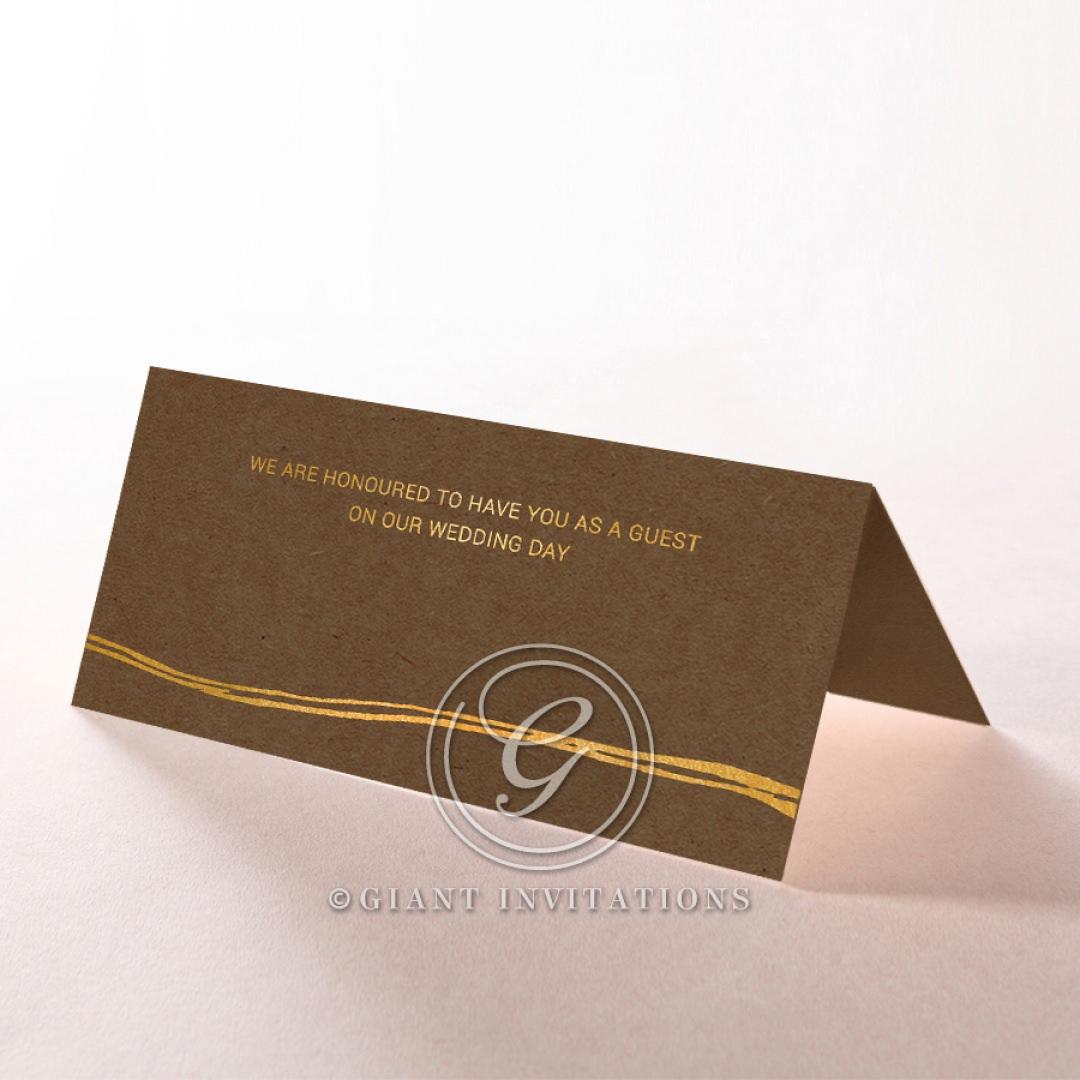Timber Imprint place card DP116093-NC-GG