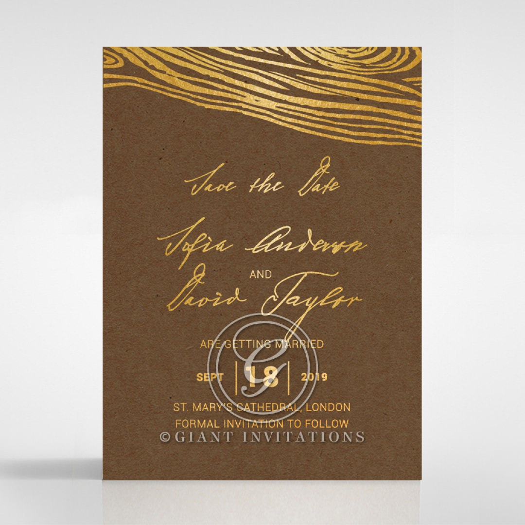 Timber Imprint save the date DS116093-EC-GG