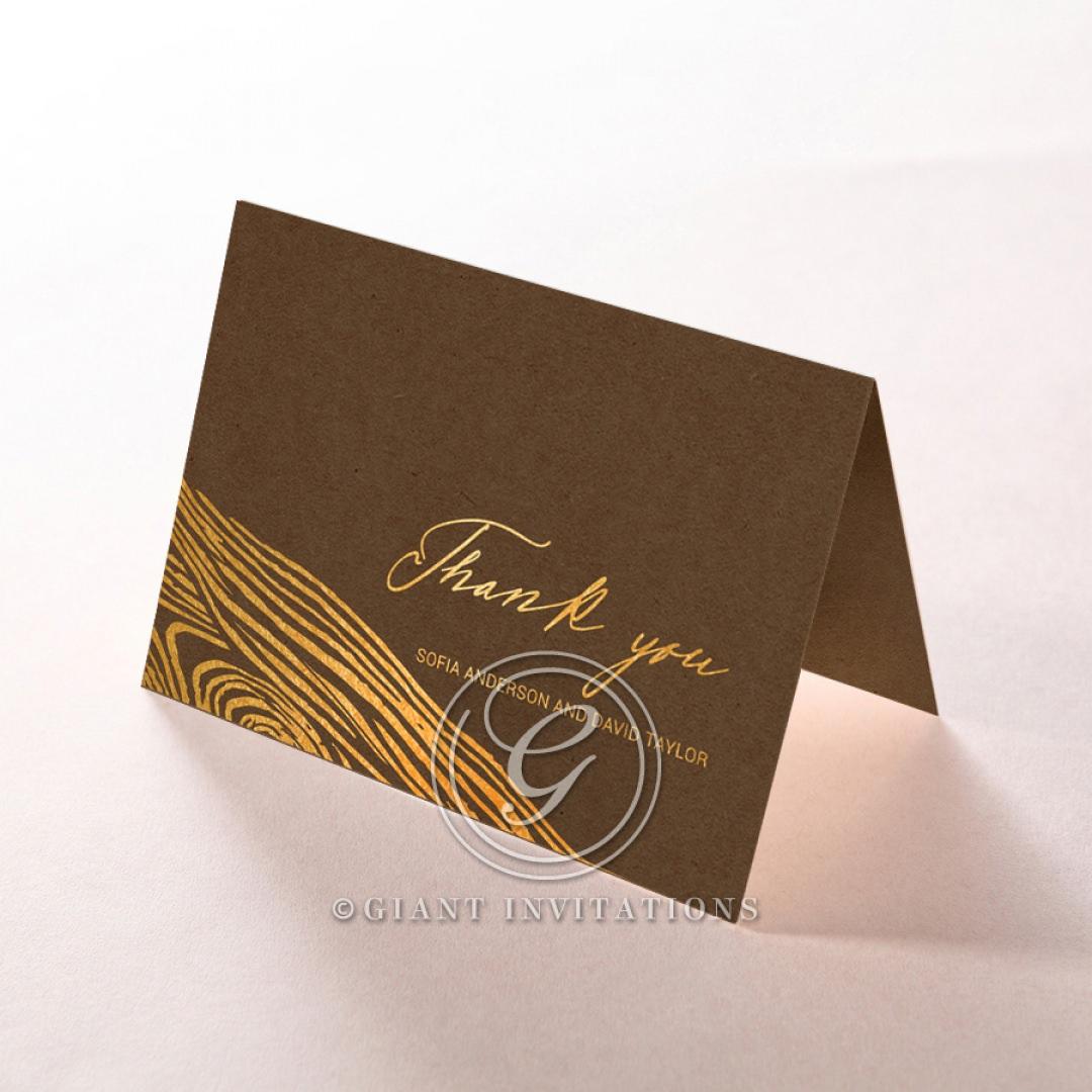 Timber Imprint thank you card DY116093-NC-GG