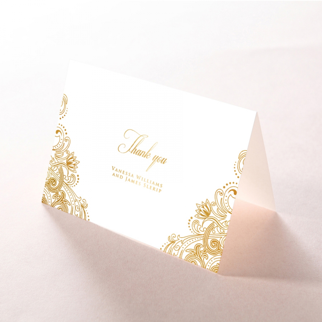 Imperial Glamour with Foil - Thank You Cards - DY116022-NV-F - 181871