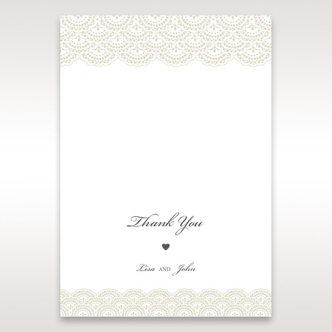 White Amabilis - Thank You Cards - Wedding Stationery - 23