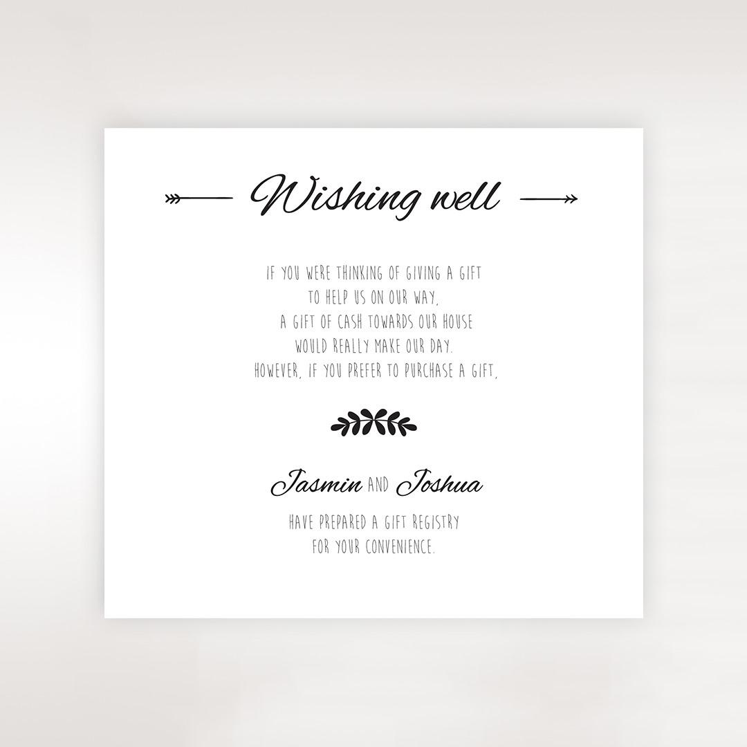 Wedding Wishing Well Invitations