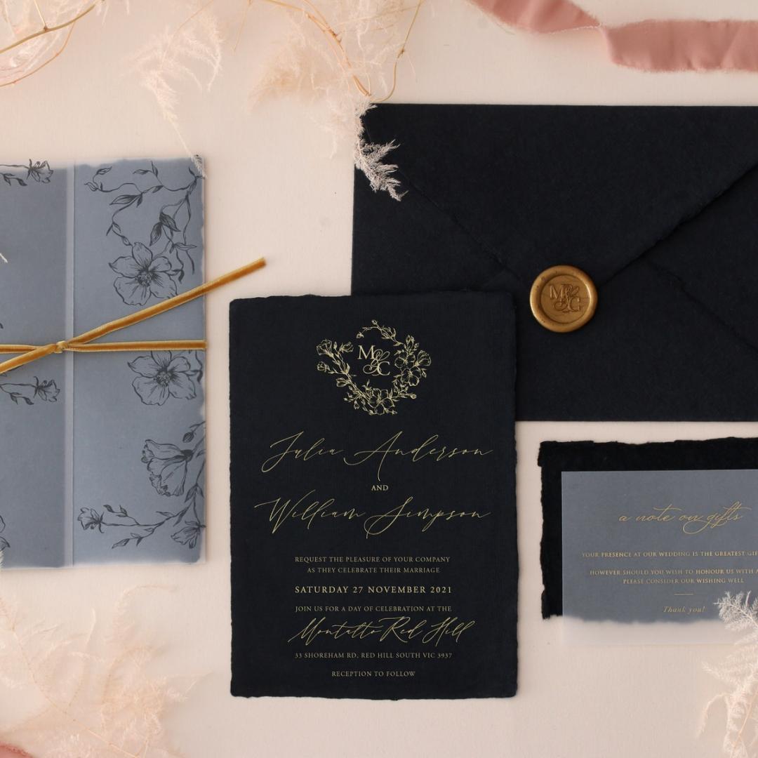 The Vintage Letter - Wedding Invitations - DEBL-GG-01 - 185169