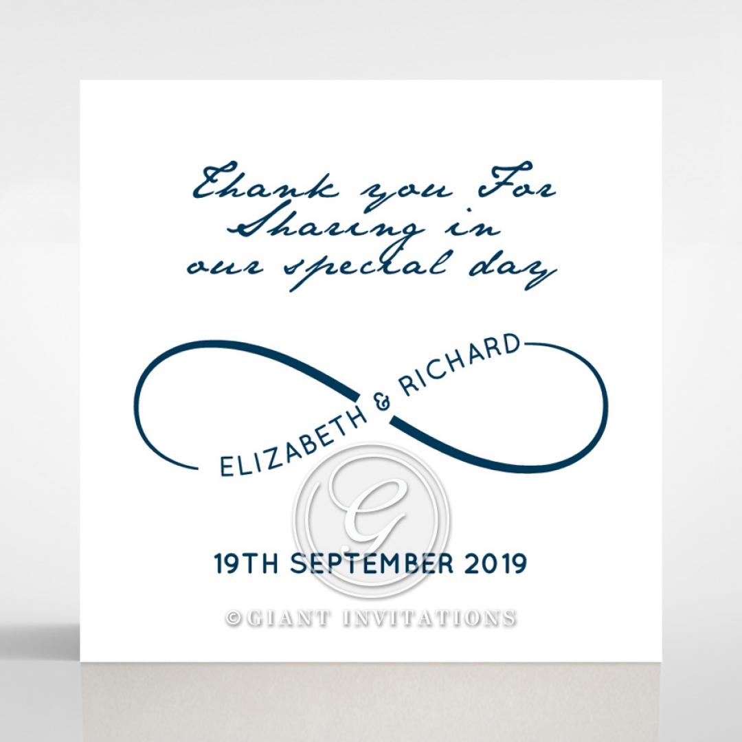 Eternal Simplicity wedding stationery gift tag item