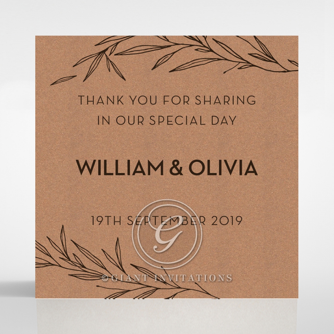 Springtime Love wedding gift tag design