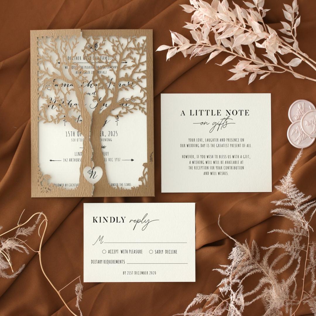 Love Tree - Wedding Invitations - PWI114561-LB - 185183