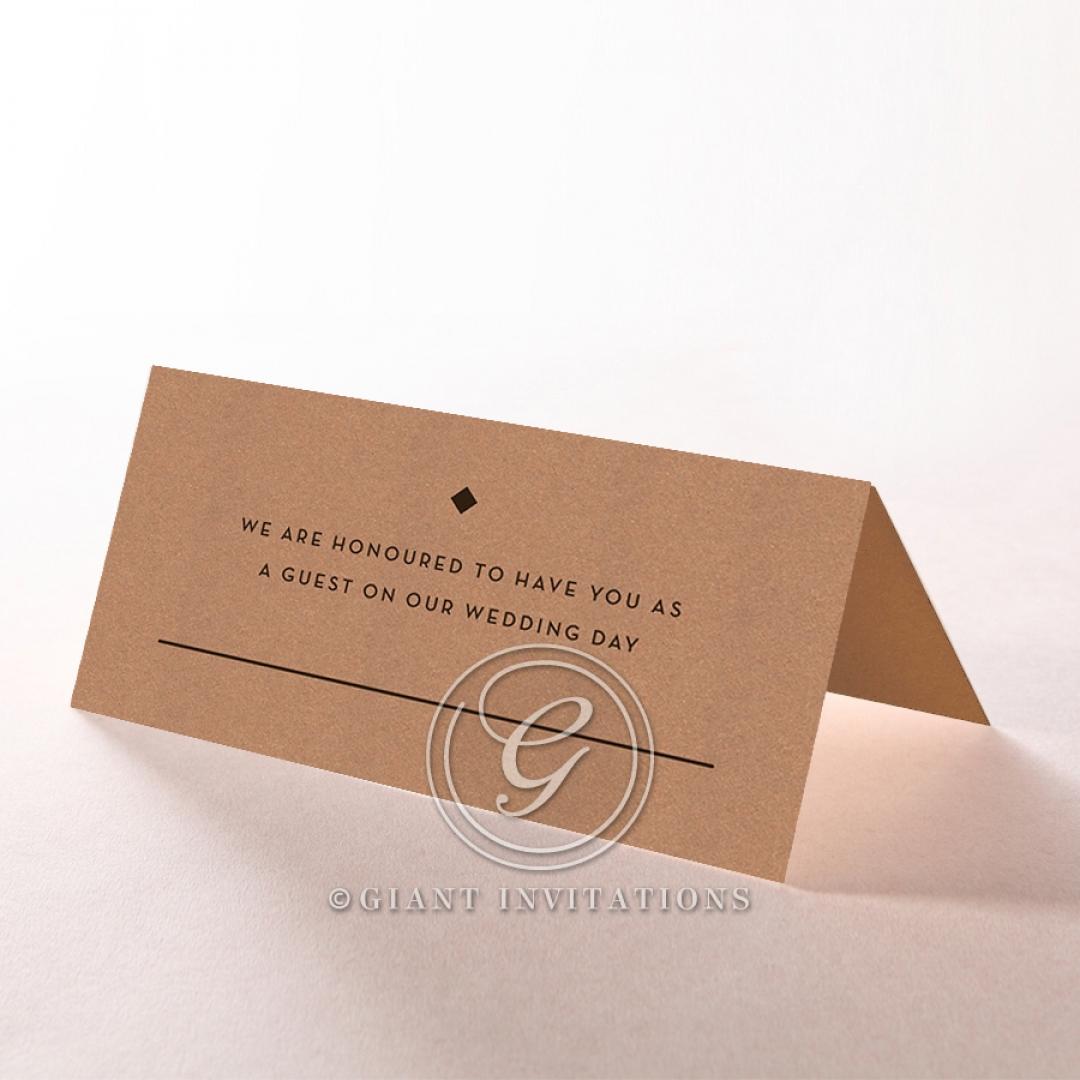 Enchanting Imprint wedding reception place card