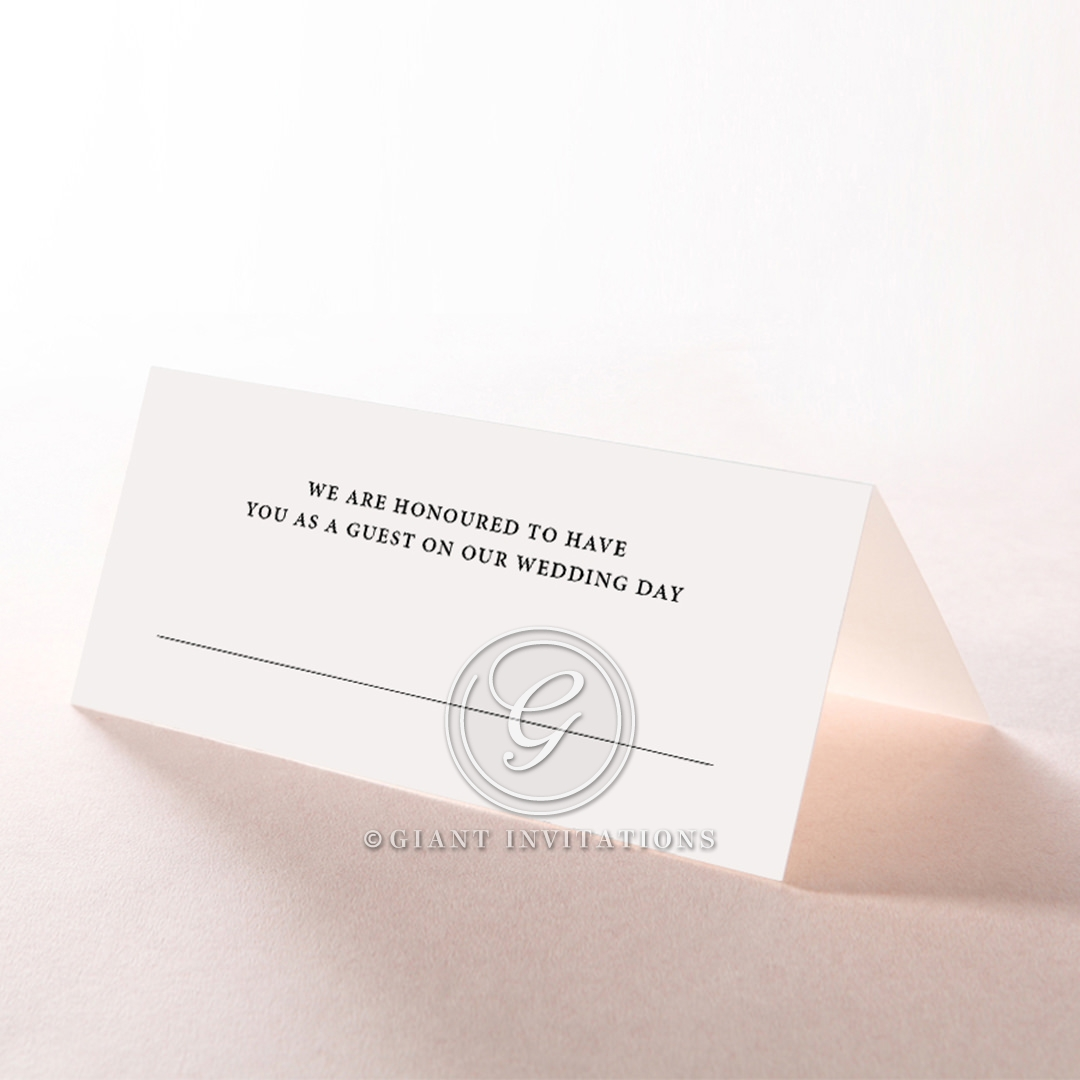 Royal Lace reception place card stationery
