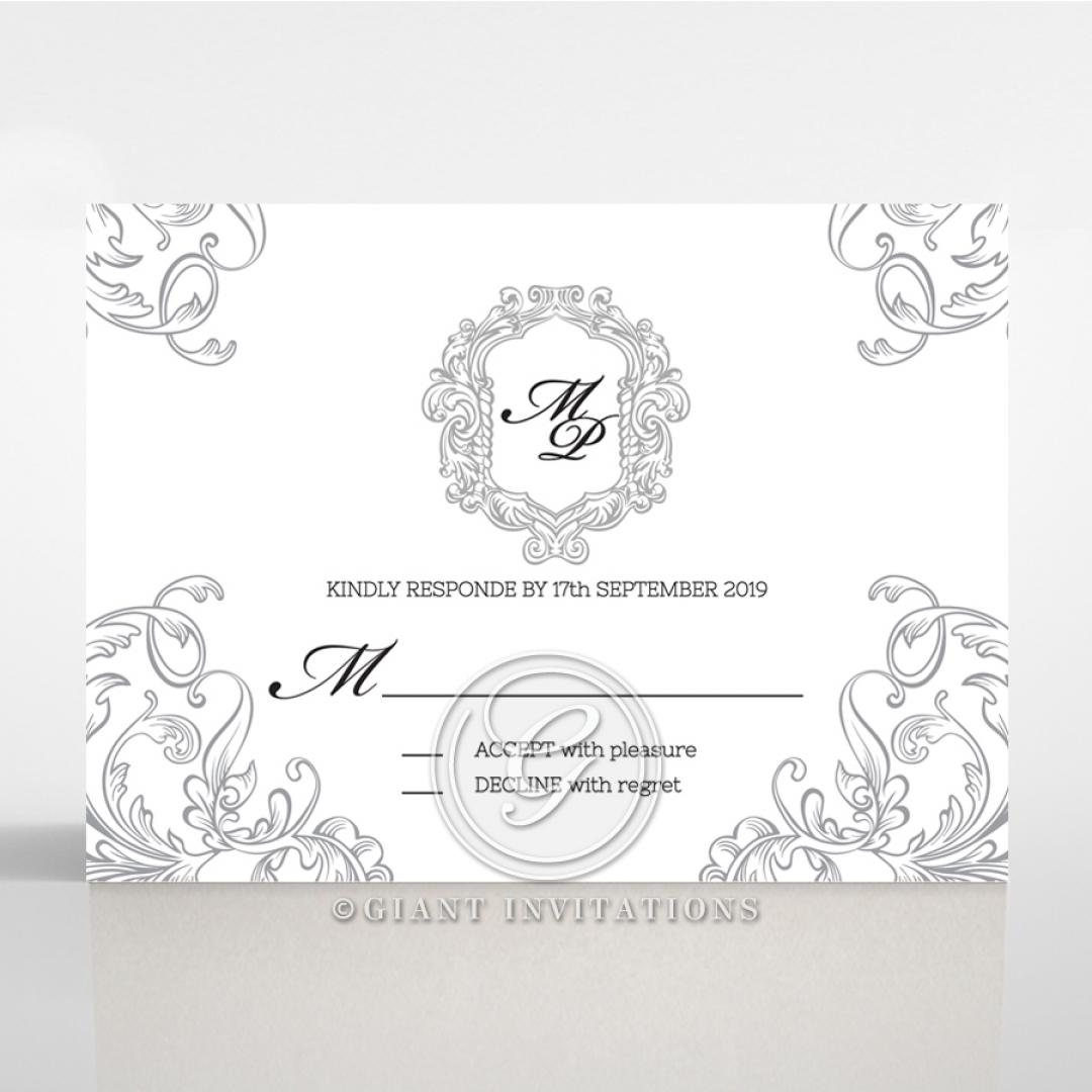 Aristocrat rsvp card design
