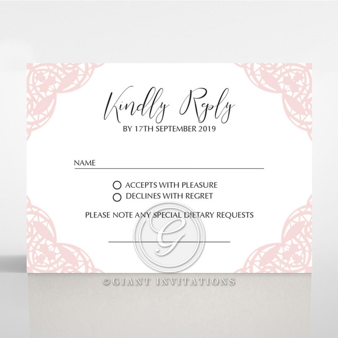 Rustic Elegance rsvp invite design