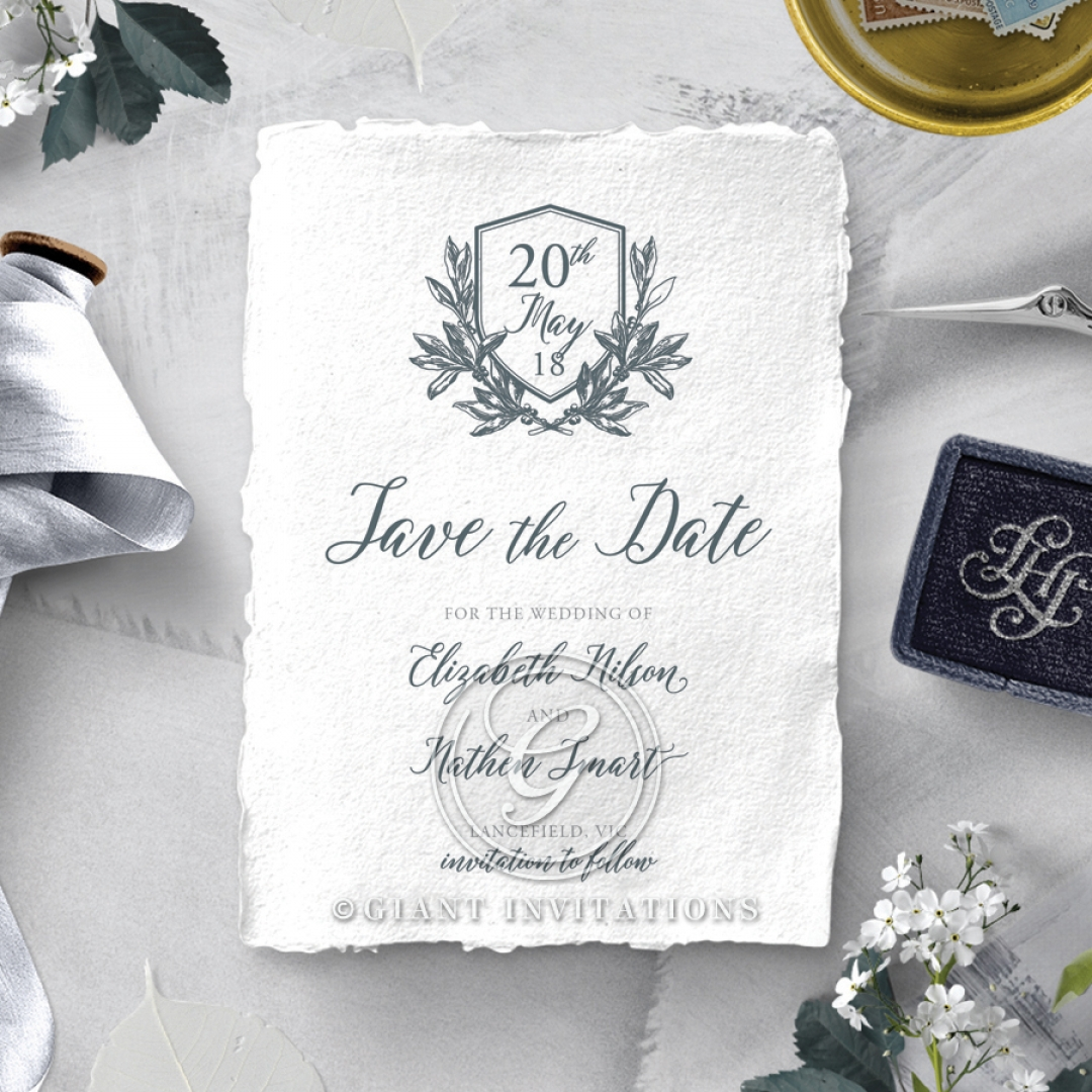 Castle Wedding wedding save the date stationery card item