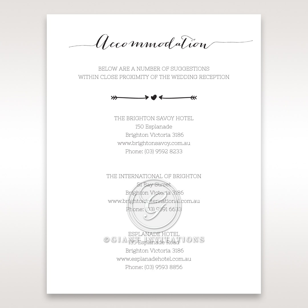 Simply Rustic Accommodation Cards in Ivory DA115085