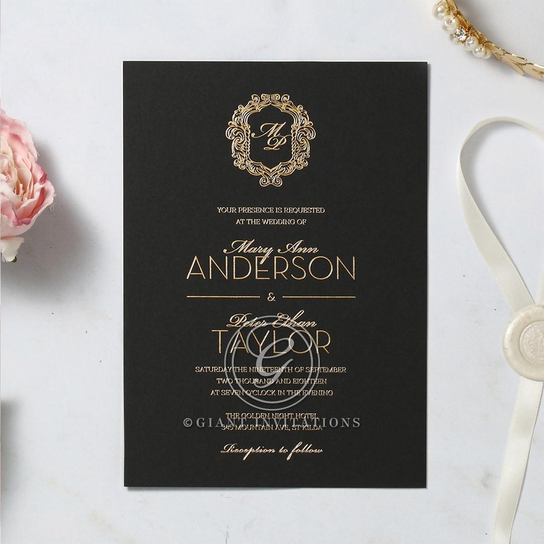 Aristocrat Invitation Card