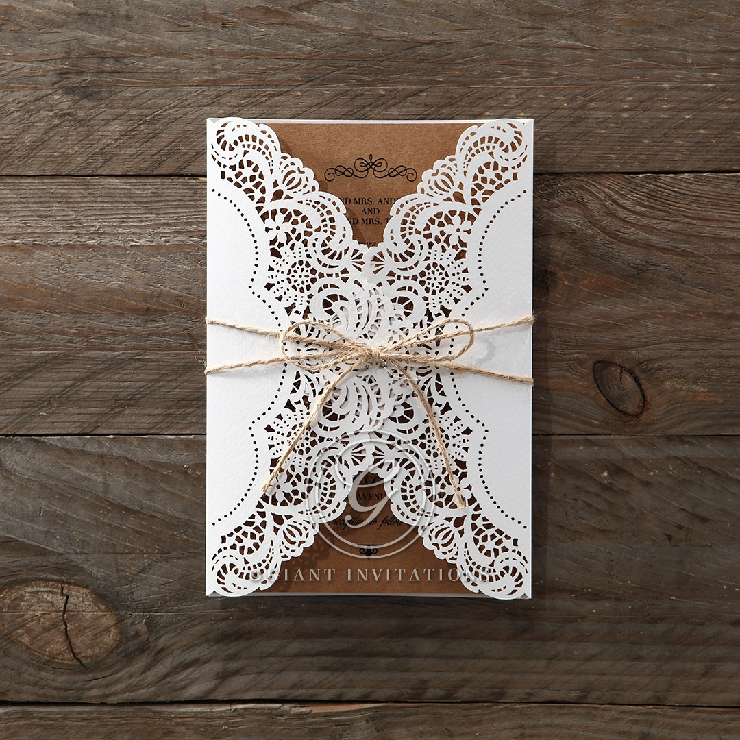 Country Glamour Invitation