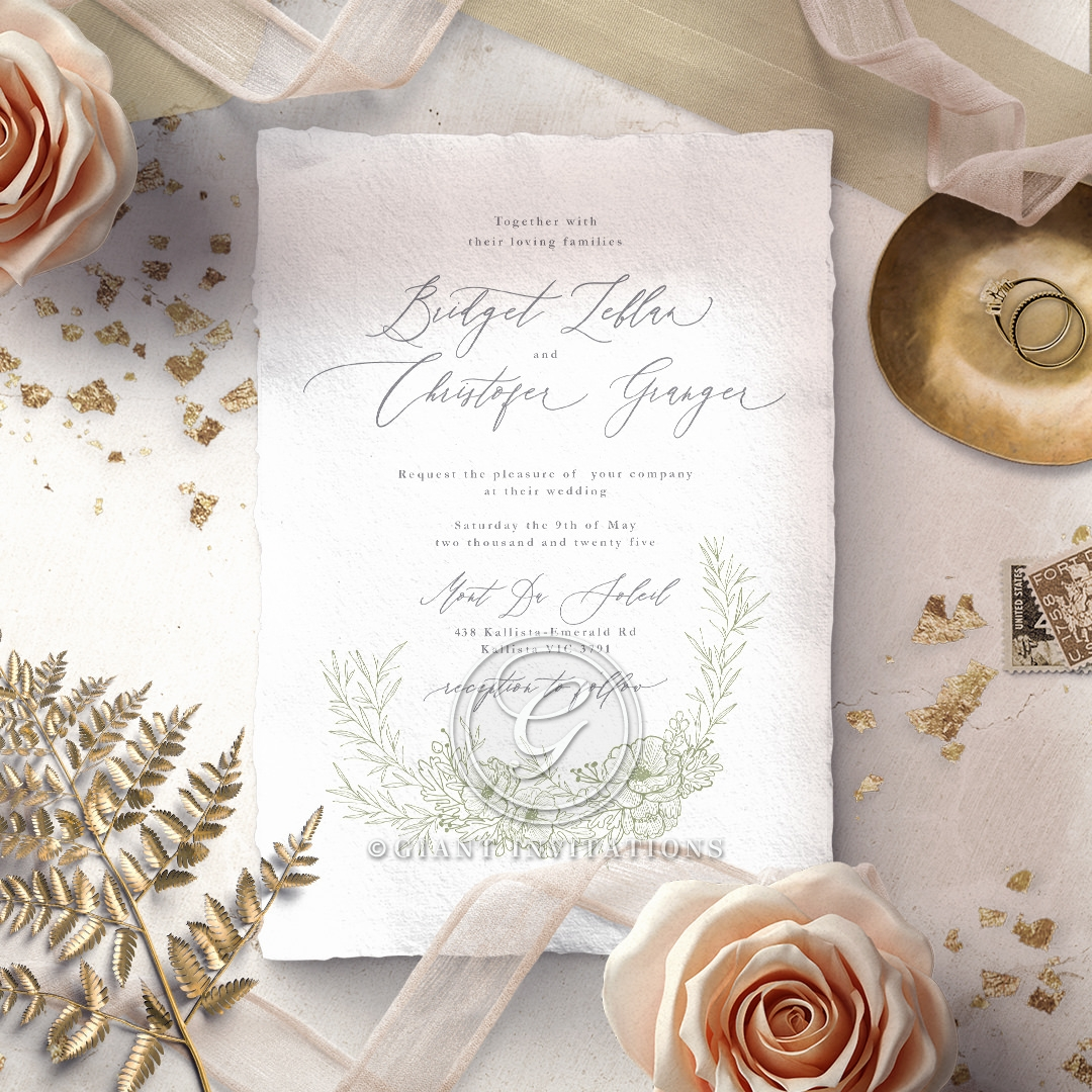 Love Estate Invitation Design