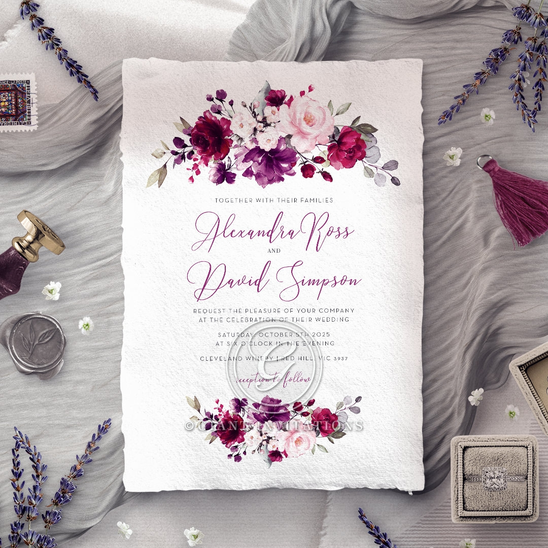 Their Fairy Tale Invitation Card