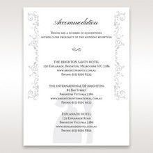 White Promise - Accommodation - Wedding Stationery - 19