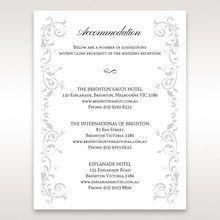 White Modern Times Vintage Pocket - Accommodation - Wedding Stationery - 23