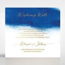 At Twilight with Foil wishing well card DW116127-TR-MG