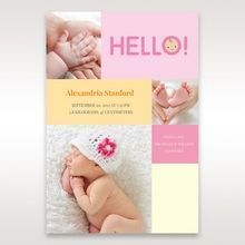 Pink Photo Trio II - Birth Announcement - 48