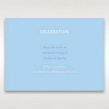 Blue Side by Side - Reception Cards - Wedding Stationery - 27
