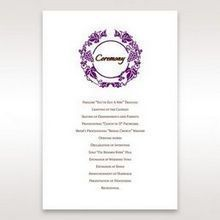Purple Royal Purple Winery - Order of Service - Wedding Stationery - 94