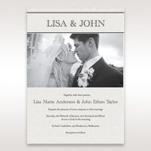 Black and white effect photo of bride and groom design custom text digital printed old look white paper worn out effect at the paper