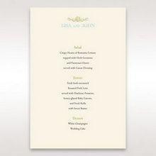 Yellow/Gold Regal Splendor - Menu Cards - Wedding Stationery - 47