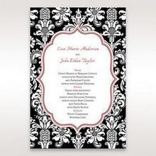 Black Majestic - Menu Cards - Wedding Stationery - 98